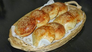 Photo of فطائر البرجر بالعجينة
